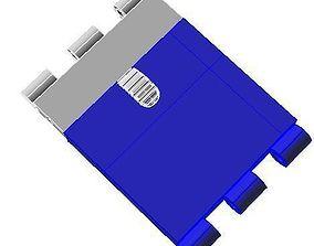 Box claps - Library techique 3D - Conception 1