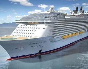 2021 Symphony Of The Seas cruise ship 3D