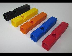 Emergency Whistle - SINGLE 3D printable model