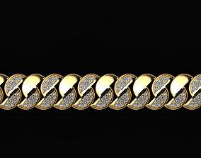3D printable model bracelet jewelry gem