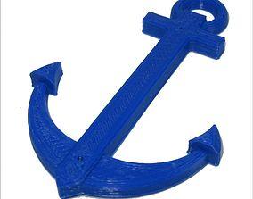 Anchor Hole - Pendant 3D print model