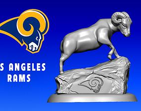 Icon Los Angeles Rams - American football 3D print model 2