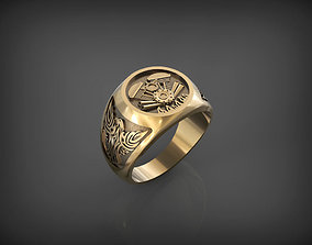 Biker Ring STL and 3DM