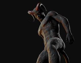 Devil 3D asset