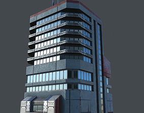 Sci-Fi Building 2 3D model