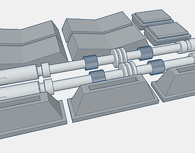 Darth Vader ANH Chestbox Parts 1 to 1 3D printable model