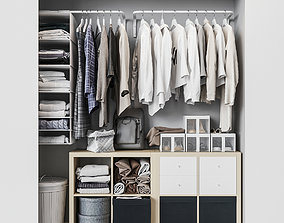 Ikea ikea Built-in wardrobe 3D model