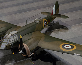 3D model Bristol Blenheim Mk-1