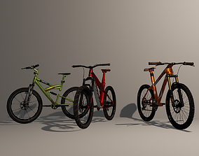 3D racing Mountain Bike Pack 1