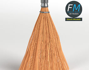 3D model PBR Whisk broom