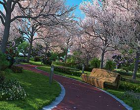city park architectural 3D