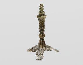 Brass Lamp Victorian Small photogrammetry scan 3D asset 2