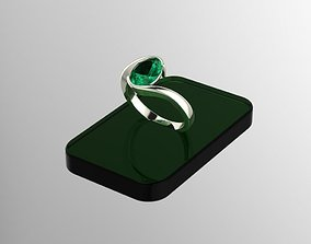 Jewelry ring for women 3d model for printable symbol