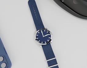 3D model Blue watch