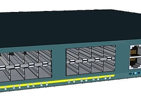 Cisco ME4924 Ethernet Switch 3D