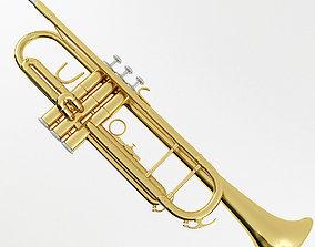 Trumpet perform 3D