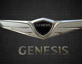 Genesis logo 3D