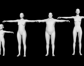 Base Family Models - Package 3D