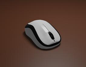 laptop 3D model Computer Mouse