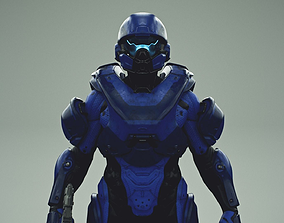 HALO 5 spartan athlon armor 3D model