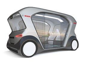 3D model Electric Bosch IoT Shuttle