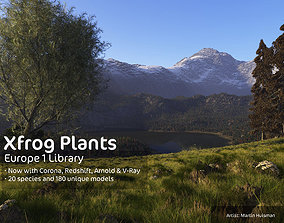 3D 2020 XfrogPlants Europe 1 Library