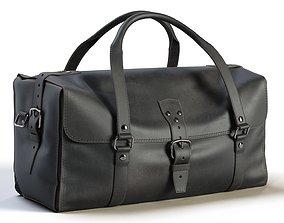 Black Leather Bag 3D model VR / AR ready