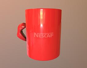 3D asset Nescaf cup
