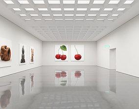 3D model Art Gallery sculpture