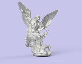 St Michael the Archangel 3D printable model
