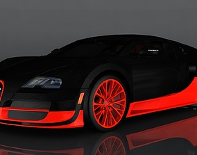 3D model bugatti veyron grand sport