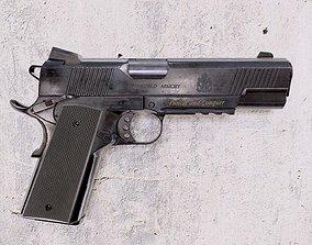 Classic Gun COLT 3D asset