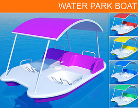 3D Water Park Boat