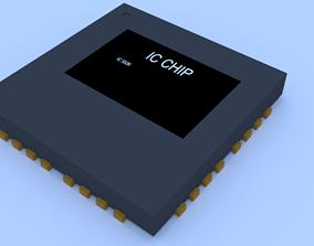 3D asset SMD IC chip