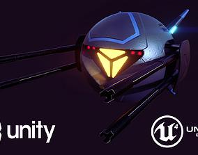 Striker Drone 3D asset