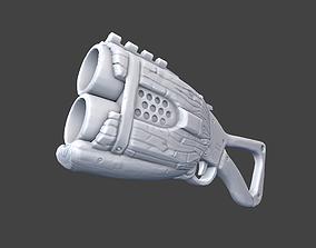 3D print model Stylized shotgun