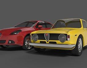 3D model realtime Alfa Romeo serie