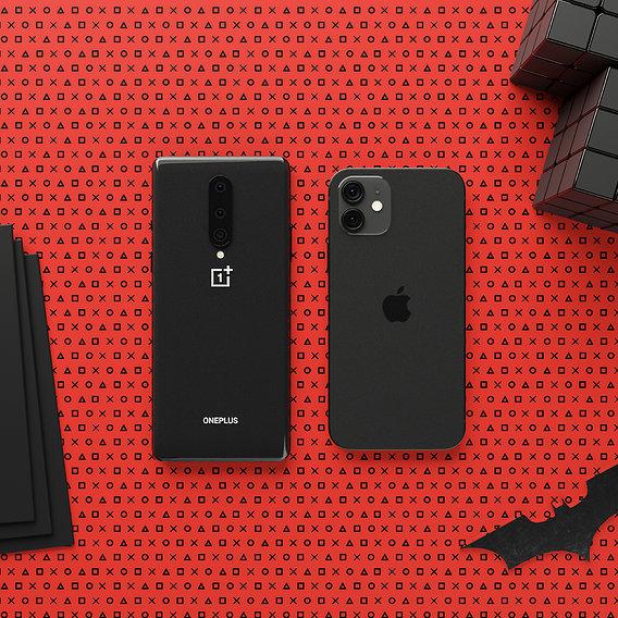 iPhone 12 VS OnePlus 8