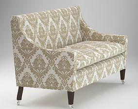 Vintage Luxurious Class Sofa 3D model