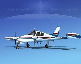 Cessna 310 V02 3D