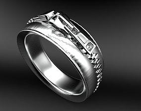 3D printable model Ring zip