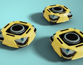 Warehouse Autonomous Robot 3D asset