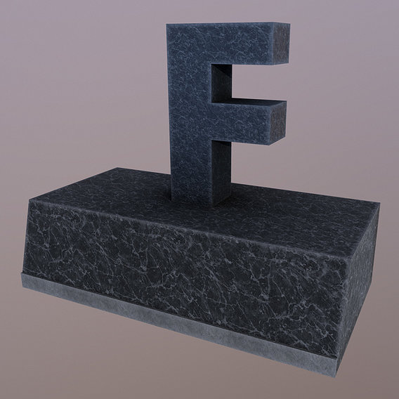 F to pay respects tombstone