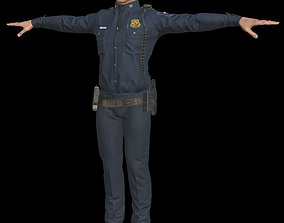 Police 1 3D model