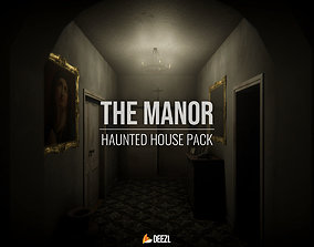 3D model The Manor - Haunted House Pack - Blender and