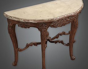 Table 04 Antiques - PBR Game Ready 3D model