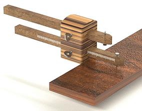3D print model Woodworking marking gauge