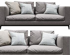 3D arrangement Minotti Andersen 2 Seater