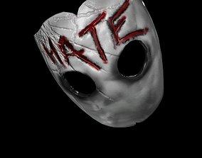 3D asset Hate Mask