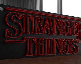 3D printable model Stranger things